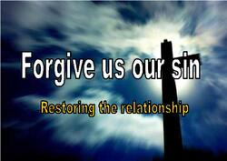 7 Forgive us our sins